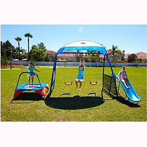 Kids Outdoor Playground Includes