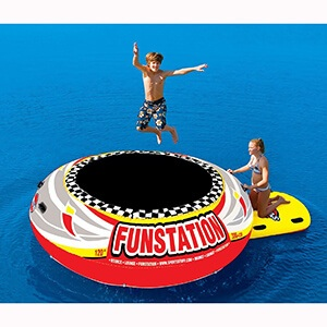 SPORTSSTUFF PVC Funstation Bouncer