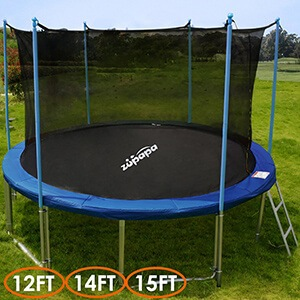 TÜV Approved Zupapa® 15FT 14FT 12FT Trampoline